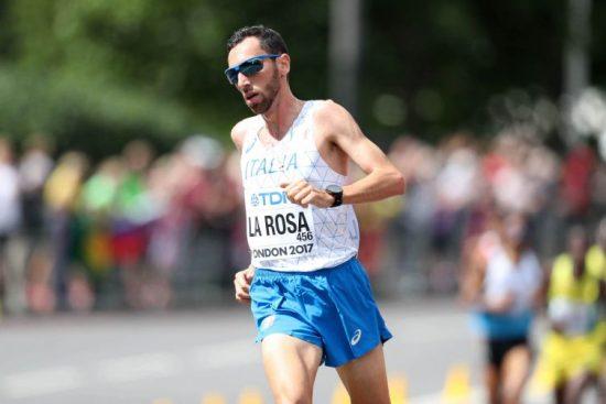 Stefano La Rosa domani in gara nella Scalata al Castello di Arezzo
