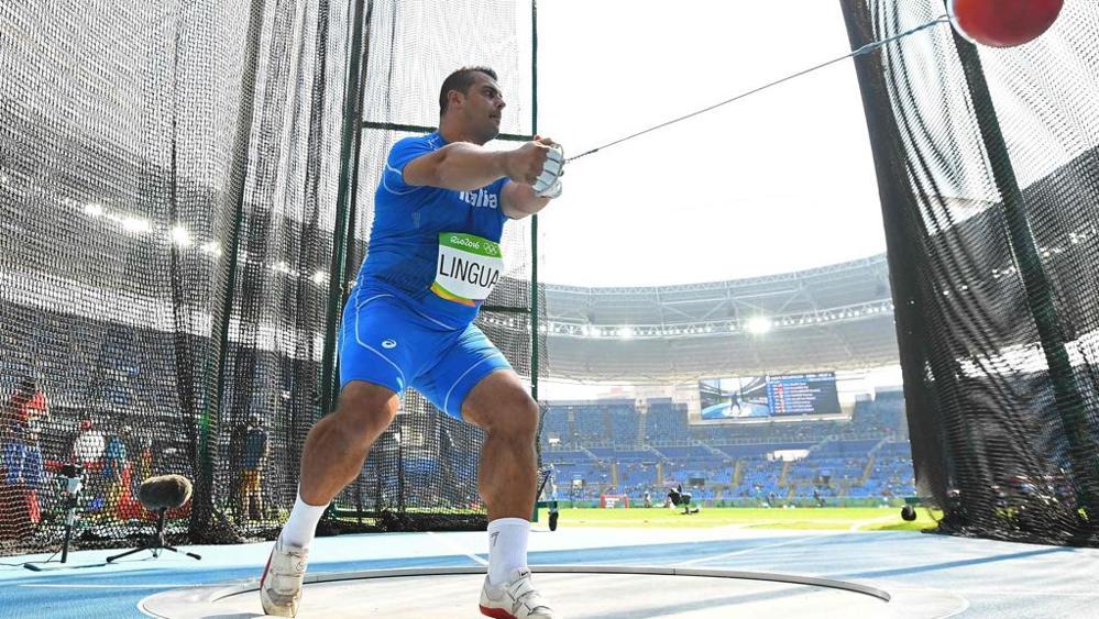 Marco Lingua sfiora i 75 metri nel martello arrivando al record stagionale