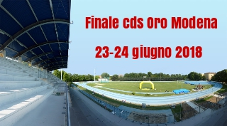 Cds Modena: doppia vittoria dell'atletica Milardi Rieti