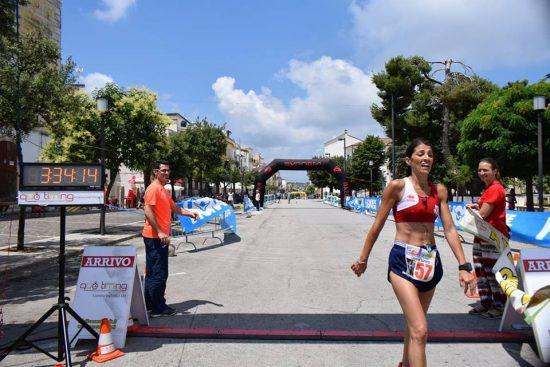 Caputo Libera Francesca, vincitrice della maratona del Gargano