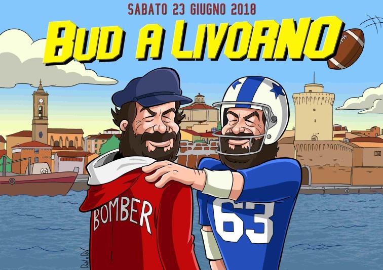 """EVENTO """"BUD SPENCER A LIVORNO"""" SABATO 23 GIUGNO 2018"""