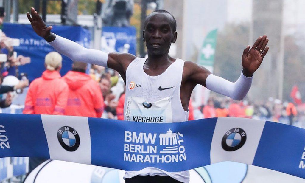 Eliud Kipchoge sarà in gara nella Maratona di Berlino per il record
