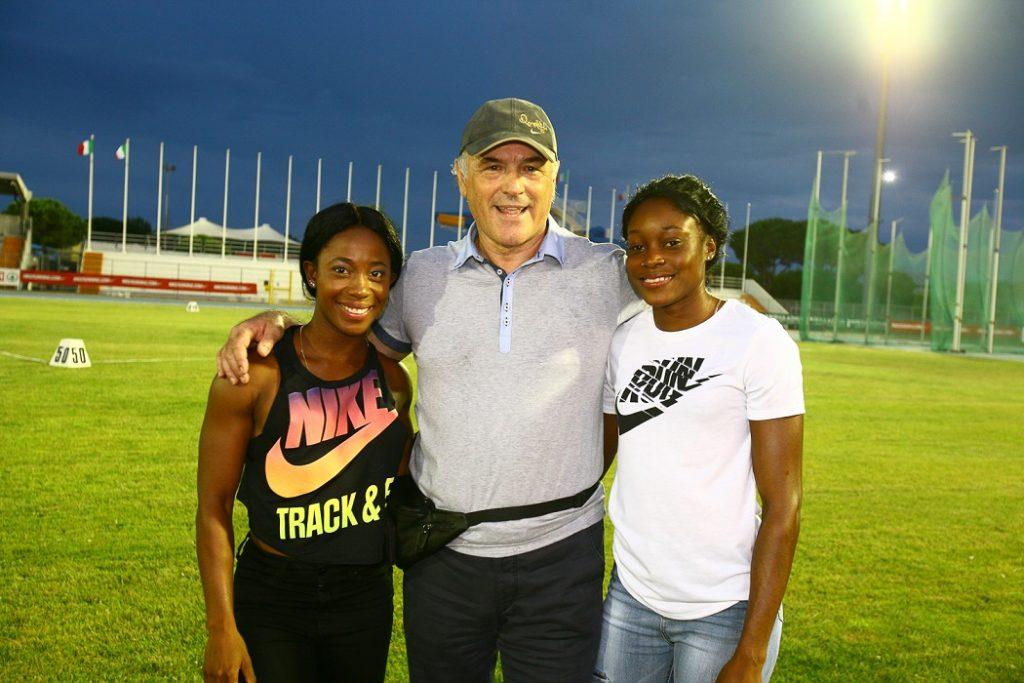 L'oro olimpico di Rio 100 e 200m Elaine Tomphson e la bi-campionessa mondiale e olimpica dello sprint Ann Fraser-Pryce  in arrivo per il 13° anno a Lignano