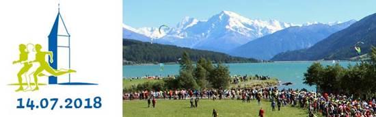 19° Giro Lago di Resia il 14 luglio  Percorso mozzafiato con partenza a Curon Venosta (BZ)