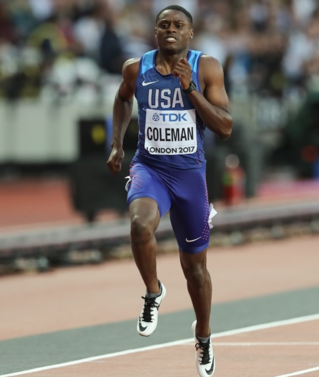 Christian Coleman si infortuna, salterà le prossime 2 tappe della Diamond League
