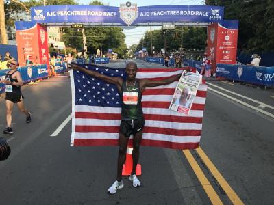 A 43 anni Bernard Lagat vince il suo prino titolo Usa sui 10k su strada