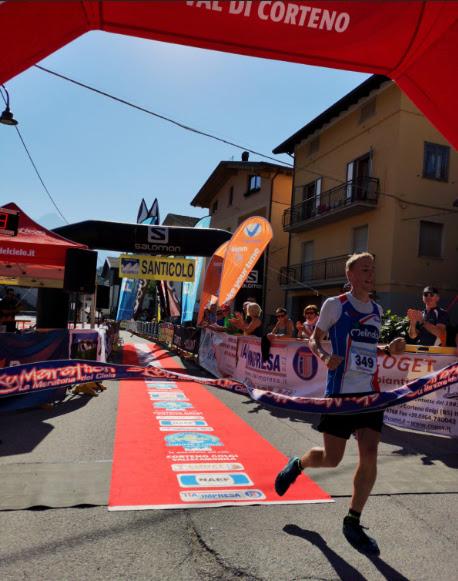 SKY RUNNING: il successo degli italiani Alex Cavallar ed Elisa Compagnoni alla Mezza 4 Luglio, prima tappa del circuito take your time Serim outdoor