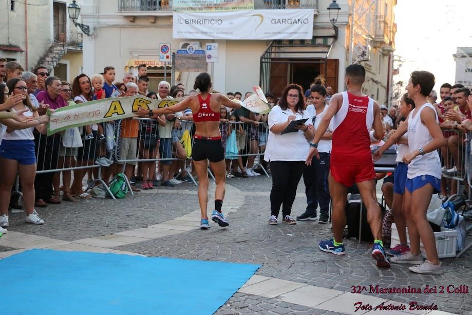 Risultati 32° Maratonina dei 2 colli, trionfano Santoro e Caputo