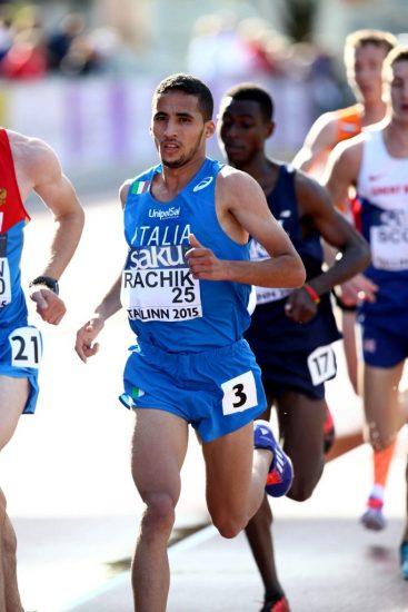 L' azzurro Yassine Rachik terzo nella Volata Napola-Mokarta