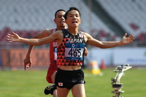 Si spintonano all' arrivo della Maratona dei Giochi Asiatici,  divampano le polemiche