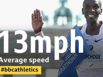 Media ella corsa, QUASI 21 Km/h