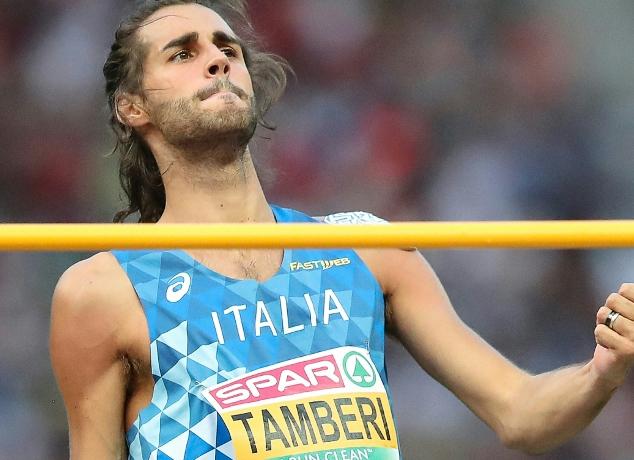 Gianmarco Tamberi chiude a Pescara la stagione del grande ritorno