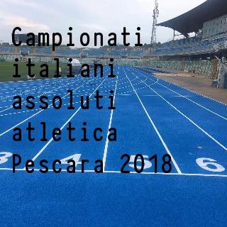 Assoluti Pescara: domani si parte, la diretta,  gli iscritti e lo streaming