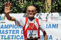 Giuseppe Ottaviani a 102 anni vince l'oro ai Mondiali Master