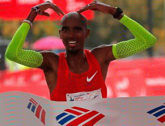 Mo Farah vince Chicago con il record europeo,  cancellato Moen
