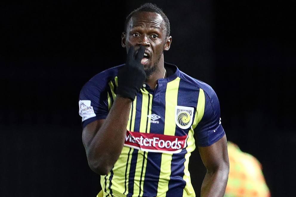 Usain Bolt: subito a rischio la neo carriera da calciatore