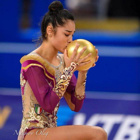 Alexandra Agiurgiuculese - palla