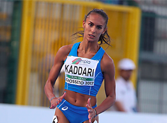 Dalia Kaddari splendido argento e record italiano nei 200 m. a Buenos Aires