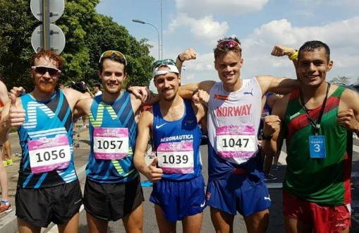 Federico Tontodonati in Cina per lo  IAAF Race Walking Challenge