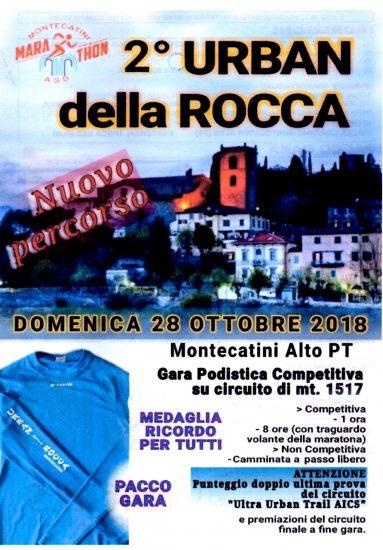 Montecatini ospita domenica la 2^  edizione della Urban della Rocca