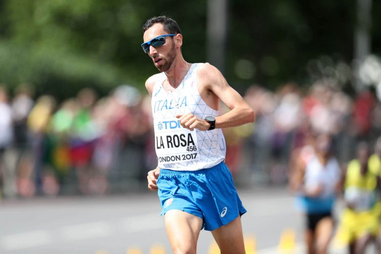 Stefano La Rosa correrà domenica la  Maratonina internazionale Città di Arezzo