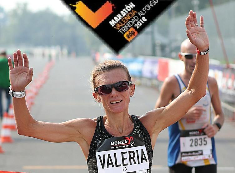 Valeria Straneo attesa domenica nella Maratona di Valencia