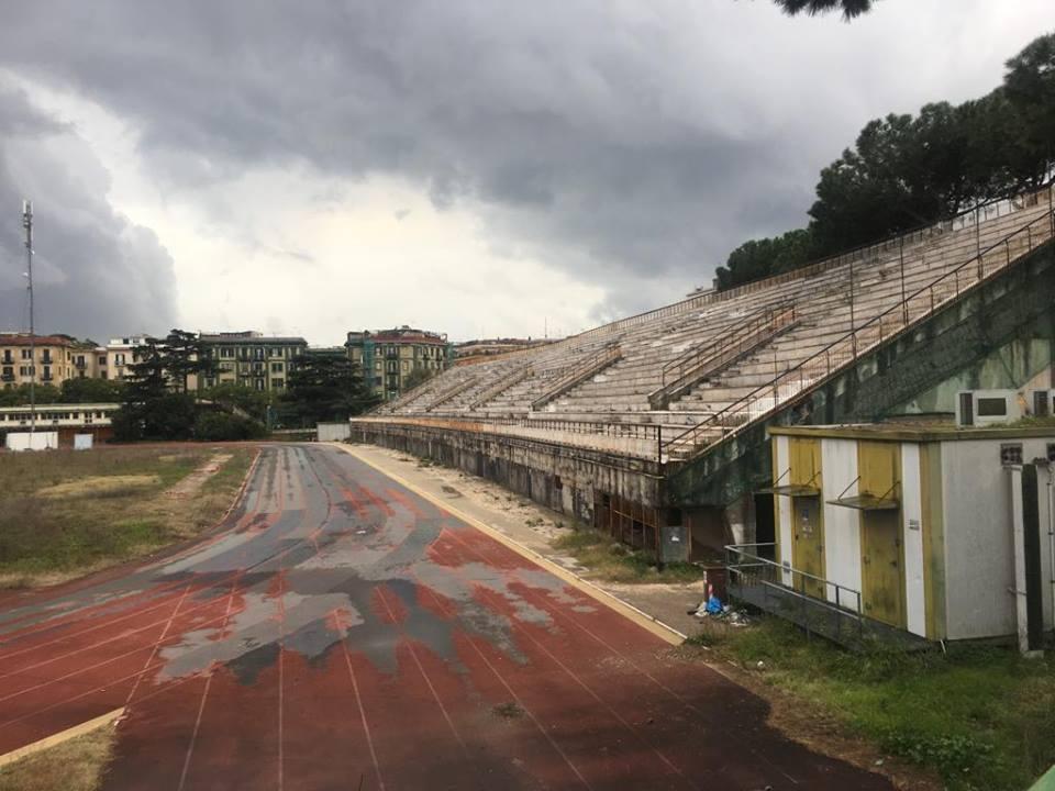 Shock a Napoli: la pista di atletica distrutta!