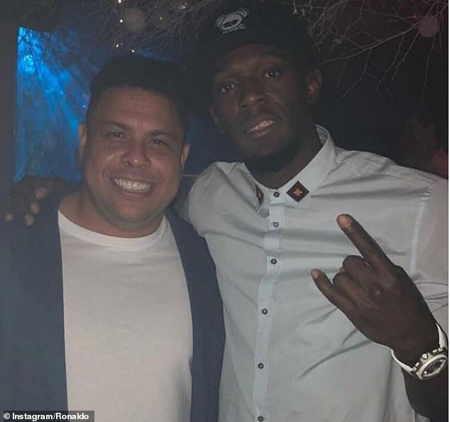 Usain Bolt chiede consigli a Ronaldo per diventare un calciatore professionista