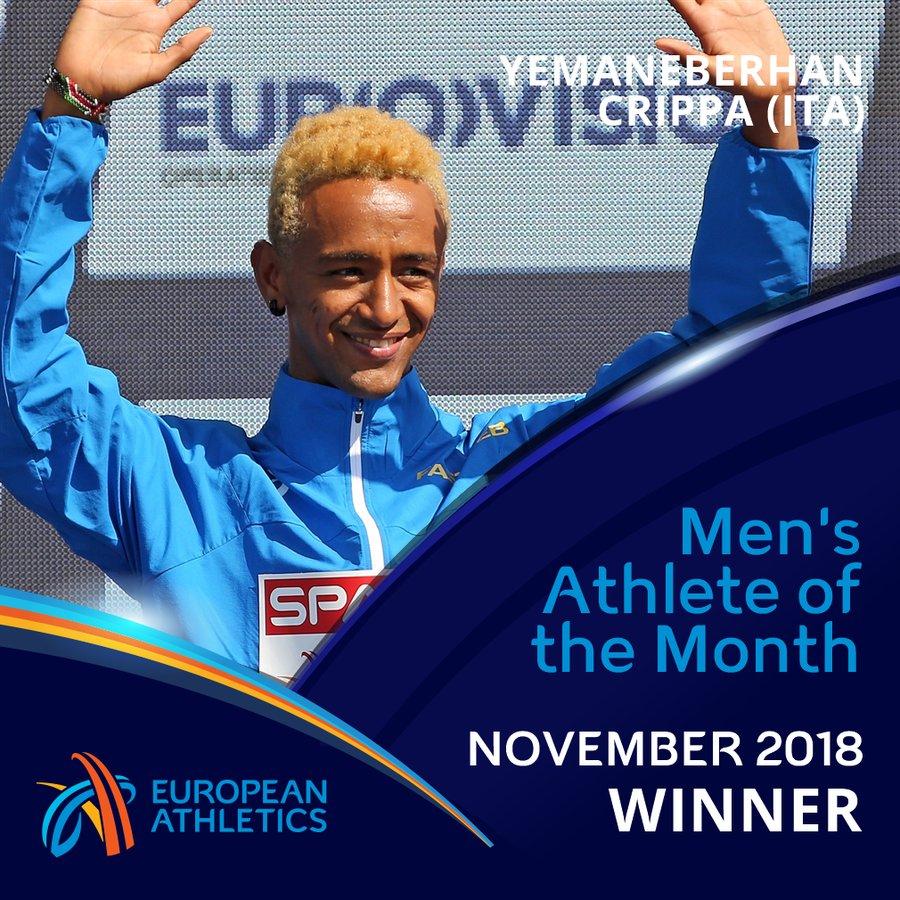 Yeman Crippa eletto atleta europeo di novembre