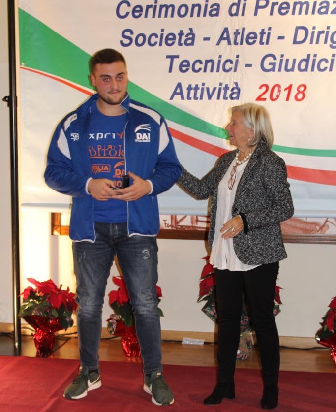 Carmelo Musci eletto atleta pugliese del 2018