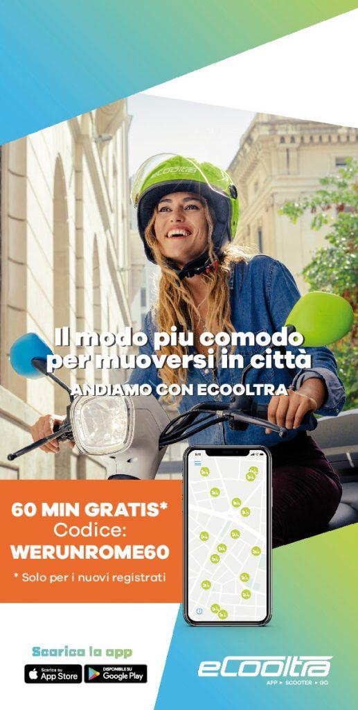 eCooltra @Atleticom We Run Rome 2018: 60 minuti gratuiti te li offriamo noi!