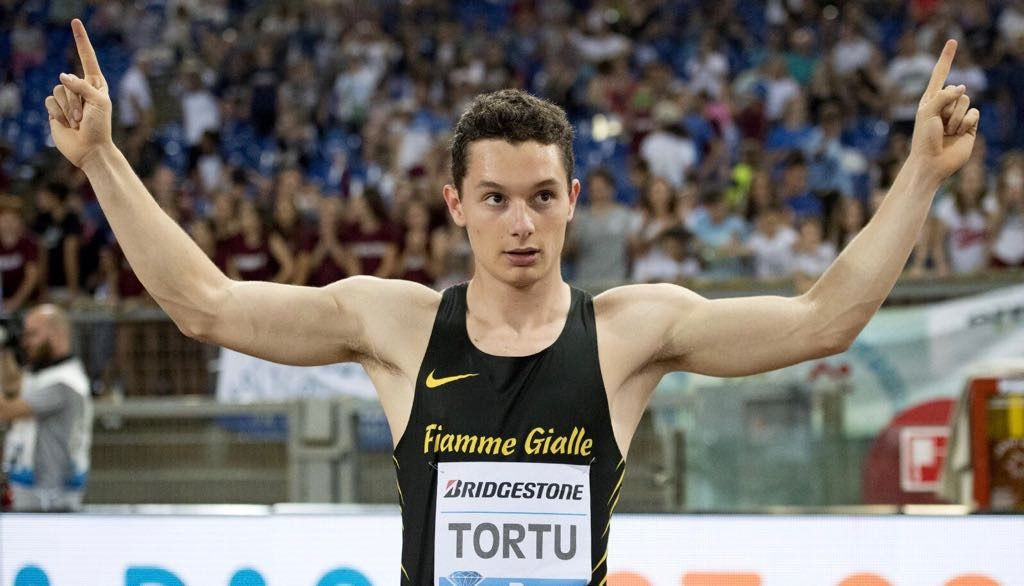 """Filippo Tortu eletto uomo dell'anno"""" nei Gazzetta Sports Awards, stasera 21.15 la premiazione su La 7"""