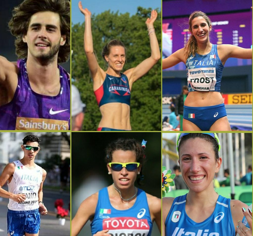 Tamberi,Vallortigara,Trost,Stano,Giorgi e Palmisano gli azzurri presenti nella classifica di Atleti mondiali dell'anno della rivista statunitense Track and Field News