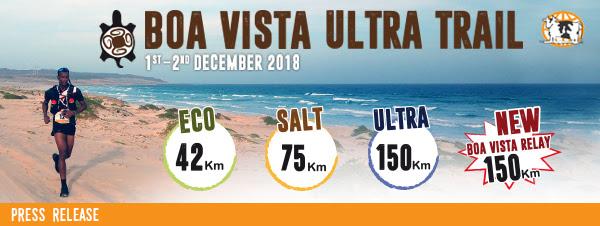 TRAIL RUNNING: l'italiano Fabio Caporali secondo classificato nella 150 chilometri della Boa Vista Ultra Trail 2018. Tra le donne successo di Alice Modignani Fasoli, sesta assoluta