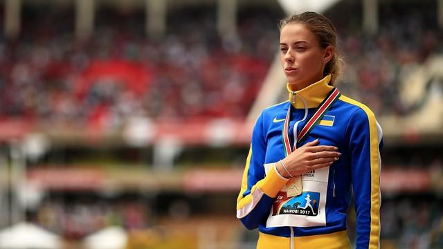 Salto in alto, record del Mondo U20 eguagliato dall'ucraina Yaroslava Mahuchikh