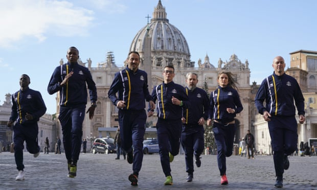 Il Vaticano lancia la squadra di atletica e prende di mira le Olimpiadi