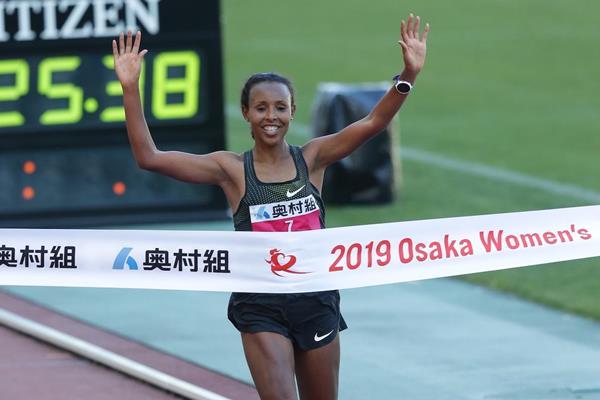 L' Etiope Sado trionfa nella MARATONA FEMMINILE DI OSAKA