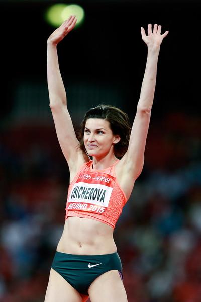 Anna Chicherova batte a sorpresa Maria Lasitskene nel salto in alto