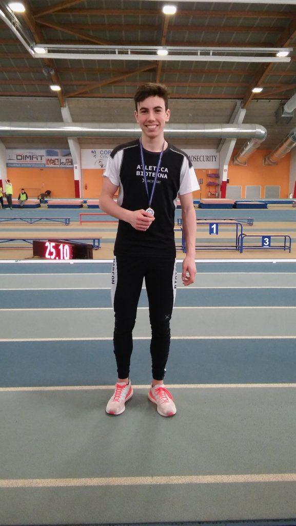 Vola al Record italiano allievi Federico Guglielmi nei 60 m.