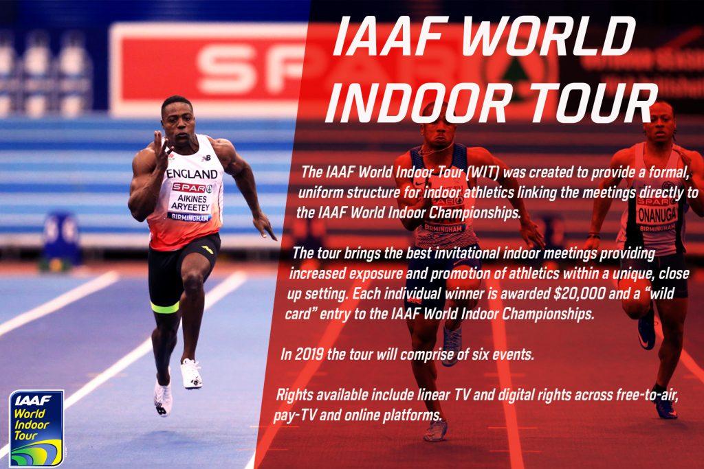 Stasera il live  della prima tappa del World Indoor Tour IAAF di Boston