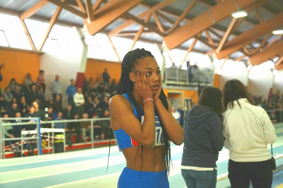 Larissa Iapichino super record italiano nel pentathlon a Padova