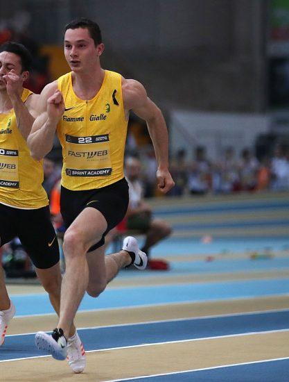 Filippo Tortu esordisce con il record italiano U23 nei 60m. ad Ancona