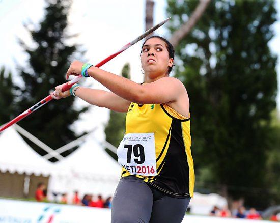 Carolina Visca apre la stagione con 55,01 nel giavellotto ad Ostia