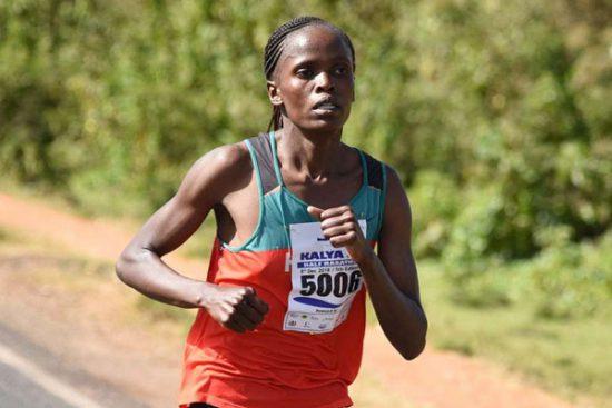 Brigid Kosgei batte  il record della Mezza Maratona di Houston