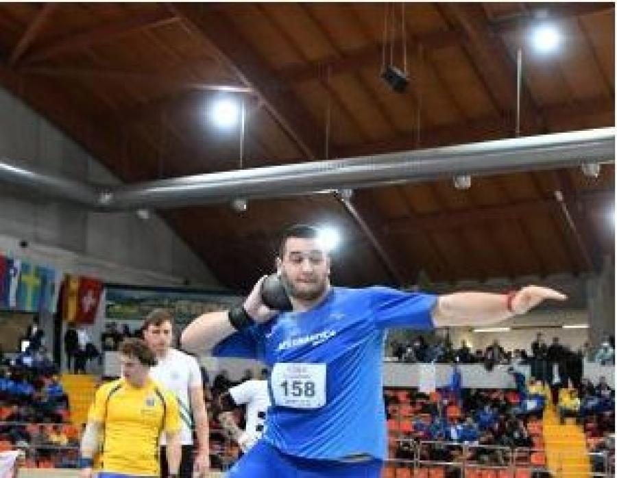 Leonardo Fabbri esordisce a Padova con 19.33 nel peso