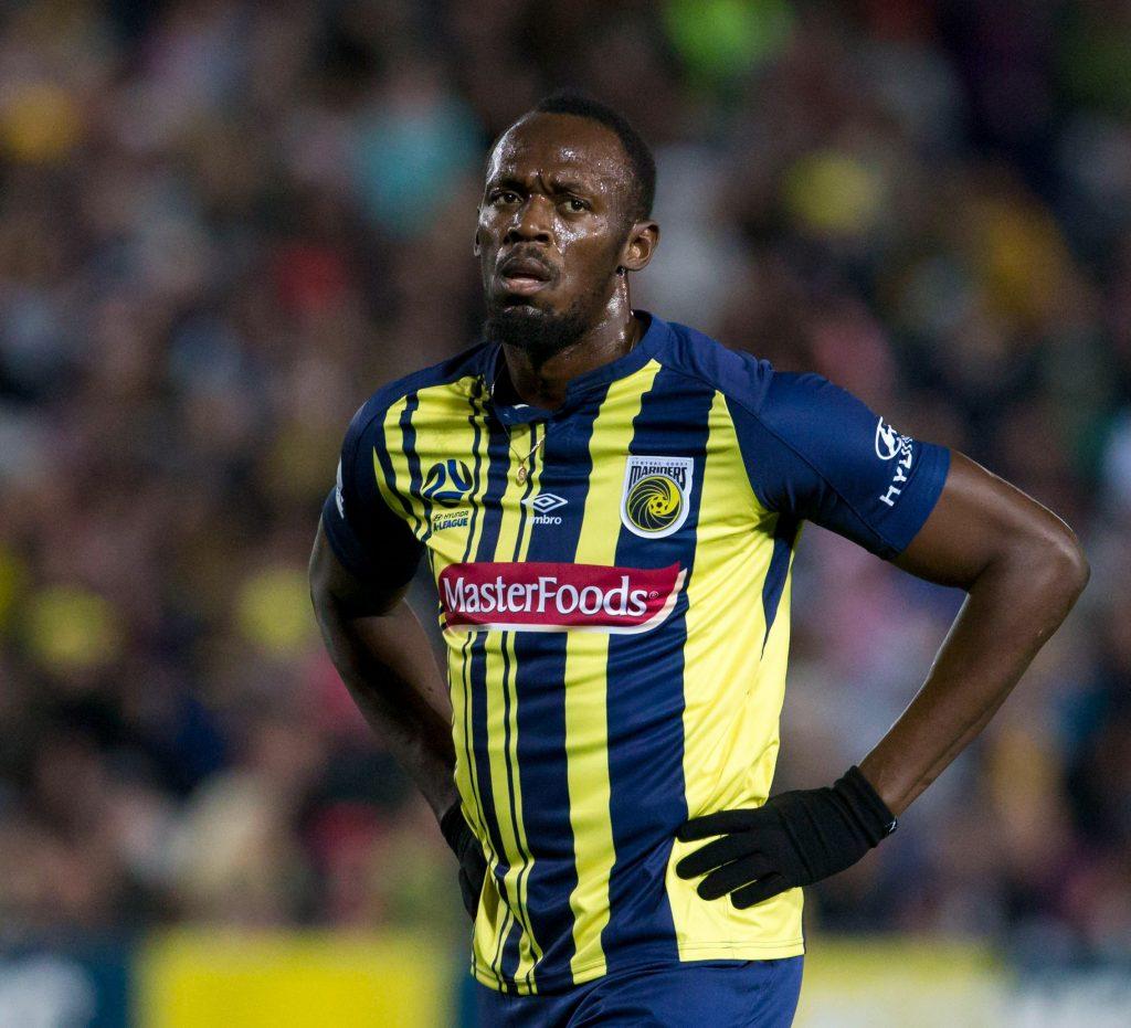 Usain Bolt si ritira da calciatore... era ora!