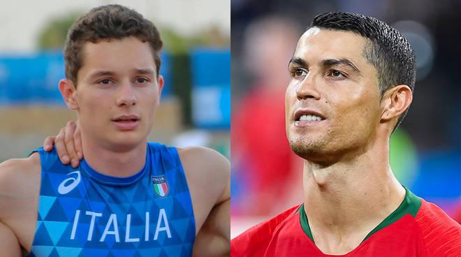 """Filippo Tortu, """"Adesso posso sfidare Ronaldo"""""""