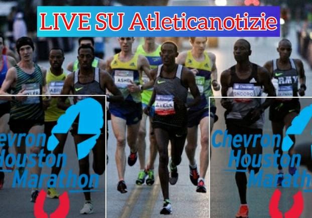 La diretta della Maratona e Mezza Maratona di Houston su atleticanotizie