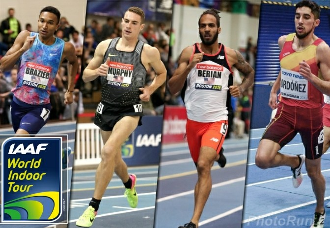 Un super 800 metri nella prima tappa del World Indoor Tour IAAF di Boston