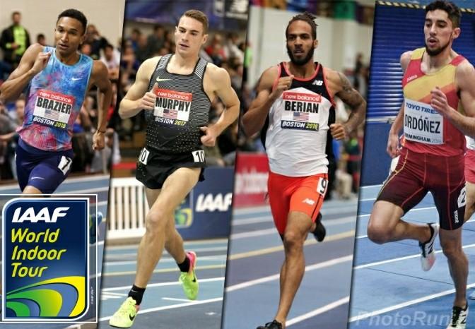 Un super 800 metri nella prima tappa del World Indoor Tour IAAF di Boston